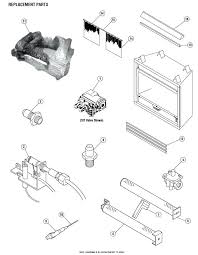replacement parts for gas fireplace superior parts replacement parts for ventless gas fireplaces