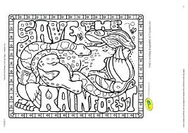 Rainforest Animal Coloring Pages Animals Coloring Pages Free ...