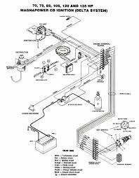 mastertech marine chrysler force outboard wiring diagrams chrysler 75 135 hp magnapower delta cd ignition alternator