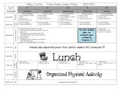 lesson plan template for kindergarten 55 best lesson plan templates images teacher organization