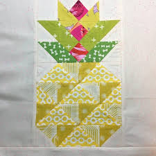 Eye Candy Quilts – Candied Pineapple Free Pattern & Then just add on more of your luscious background as spacers to square up  your block, and you're all done. Click here to get the pattern from  fabric.com's ... Adamdwight.com