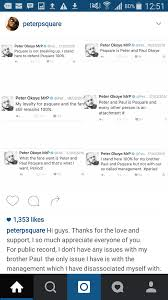 And Peter Okoye Responds To Paul S Open Letter Read His Tricky