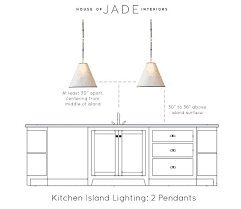 island lighting height kitchen island lighting height kitchen island using two pendant lighting height the ideal