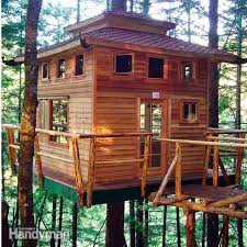 Easy Treehouse Plans Free 9 Pletely Free Tree House Plans