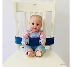 portable baby feeding chair belt toddler safety seat belt blue b07g147x2r