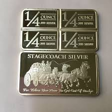 <b>20 Pcs Non Magnetic</b> The Stagecoach bar brass core silver plated ...