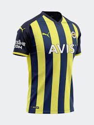 Fenerium | Fenerbahçe 2021 Çubuklu Forma