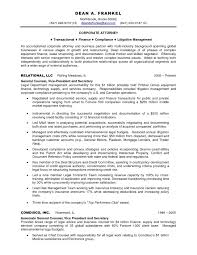 Sample Resume Corporate Counsel Attorney Elegant Cover Letter For In