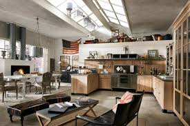 Rustic Industrial Kitchen Modern Rustic Cottage View In Gallery Rustic Kitchen Furniture