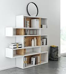 white shelving unit with glass doors small wall for