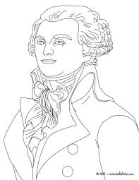 Robespierre Coloring Page