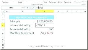 Excel Loan Calculator Formula Calculating Debt Repayment With ...