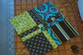 Quilting Tutorial: Simple & Cute Quilting Block | FeltMagnet & Disappearing 4 patch quilt block pattern Adamdwight.com