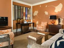 Orange And Brown Living Room Living Room Interesting Brown Living Room Decor Beige Brown