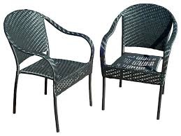 black outdoor wicker chairs. black wicker lounge chair furniture outdoor chairs set of 2 transitional . a