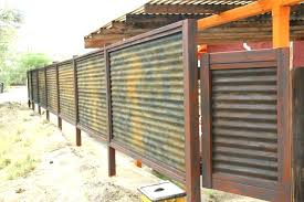 metal fence cost corrugated metal fence cost corrugated metal fence custom made corrugated metal wood fence metal fence cost