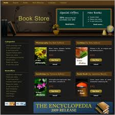 Buy Templates Online Book Store Free Website Templates In Css Html Js Format