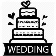 Cake Food Marriage Sweet Valentine Wedding Icon