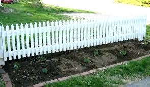white picket garden fence small fence ideas small garden fence garden fence designs from simple elegant