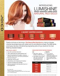 Joico Hair Color Chart Technical Charts Joico