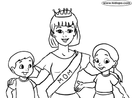 Small Picture Mom Coloring Pages Best Mom coloring page Mom coloring