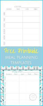 Excel Weekly Meal Planner Meal Plan Template Excel Weekly Schedule Lightsforless
