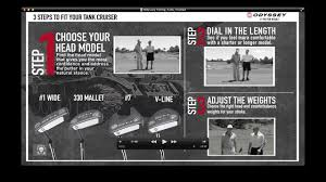 How To Fit A Putter Chart Odyssey Tank Cruiser Fitting Guide