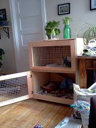 picture of build an indoor rabbit cage