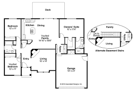 Traditional House Plans   Phoenix     Associated DesignsTraditional House Plan   Phoenix     Floor Plan