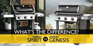 Weber Grill Temperature Chart Weber Spirit Vs Genesis Whats The Difference