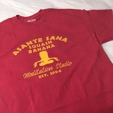 My Asante Chart Unisex Asante Sana Meditation Studio Mercantile Collection Crew Neck Shirt Tshirt Inspired By Disney Lion King Multiple Options