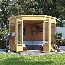 garden sheds. Wonderful Garden Tongue U0026 Groove Garden Summerhouse Corner Pent Roof And Felt Tu0026G Floor Inside Sheds U