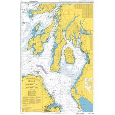 Admiralty Chart 2675 Admiralty Chart 2724 North Channel To The Firth Of Lorn