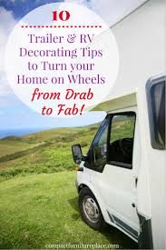 Most popular rv camper van decorating ideas Interior Are You Looking For Ideas To Update Your Home Away From Home Read Our 10 Camper Report 10 Rv Decorating Tips To Make Your Home On Wheels More Homey