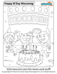 Online Coloring Pages Printable Book For Kids Paint By Free Adults