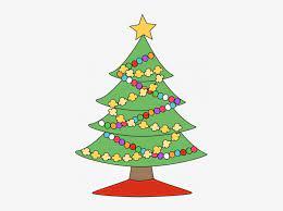 christmas tree decorating cartoon png