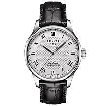 tissot watches quality swiss watches ernest jones watches tissot le locle men s stainless steel strap watch product number 6148298