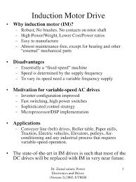 Design Of Induction Motor Ppt Ppt Induction Motor Drive Powerpoint Presentation Free
