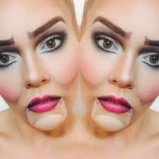 tutorial marionette puppet makeup