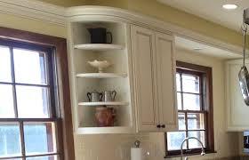 Rounded Corner Shelves Rounded Corner Kitchen Cabinet Shelves On Cabinets Shelf Unit 55
