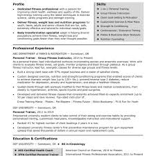 Trainer Resume Sample Fitness And Personal Trainer Care Sports Therapist Cover Letter An 73