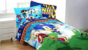 mario twin bedding sophisticated kart sonic hedgehog sd set game comforter sheets bed canada