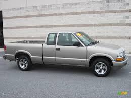 1999 Light Pewter Metallic Chevrolet S10 LS Extended Cab #24493618 ...