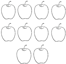 Coloring Page Of An Apple Tree Coloring Page Apple Tree Nature