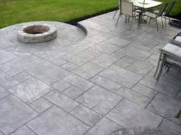 top 50 best stamped concrete patio