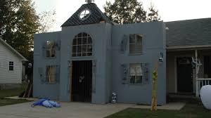 office haunted house ideas. Haunted Facade All. Fingernail Design Ideas. Loft Nail Art Ideas Office House