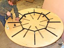 round expanding table expanding round table plans within ideas 8 expanding round table uk