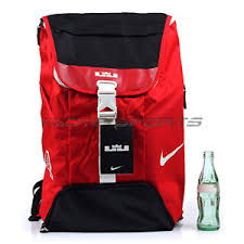 lebron bag. image is loading nike-lebron-max-air-ambassador-basketball-backpack-red- lebron bag