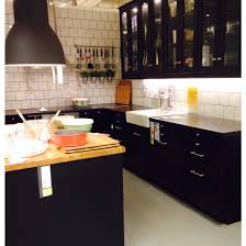 Laxarby Snyggt Ikea Kitchen Facelift Cuisine Noire Cuisines
