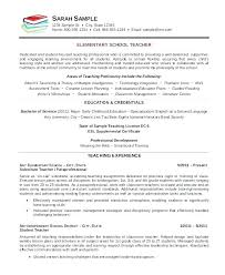 Latest Resume Format For Teachers Cool Preschool Resume Template Thewhyfactorco